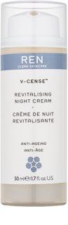 REN V-cense crème de nuit revitalisante effet rajeunissant