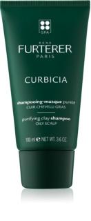 Rene Furterer Curbicia очищуючий шампунь для жирної шкіри голови