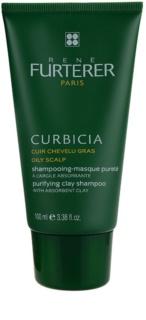 Rene Furterer Curbicia champô para o couro cabeludo oleoso