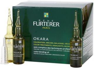 Rene Furterer Okara schützende Pflege für das Haarefärben zur Intensivierung der Farbe