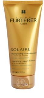 Rene Furterer Solaire Voedende Shampoo  voor beschadigd Haar door Chloor, Zon en Zoutwater