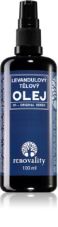 Renovality Original Series aceite de masaje corporal de lavanda