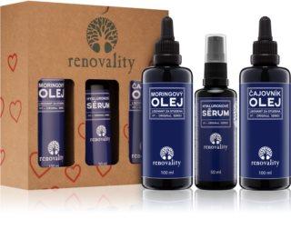 Renovality Original Series Kosmetik-Set  III. (für fettige Haut) für Damen