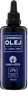 Renovality Original Series óleo de massagem corporal de lavanda