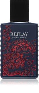 Replay Signature Red Dragon Eau de Toilette für Herren 30 ml