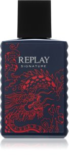 Replay Signature Red Dragon Eau de Toilette für Herren 30 ml