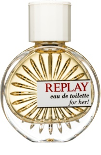 Replay for Her Eau de Toilette voor Vrouwen  40 ml