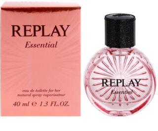 Replay Essential Eau de Toilette pentru femei 40 ml