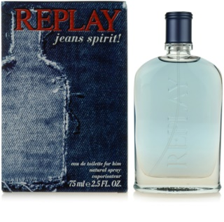 Replay Jeans Spirit! For Him Eau de Toilette voor Mannen 75 ml