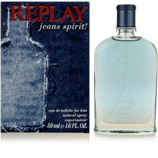 Replay Jeans Spirit! For Him Eau de Toilette for Men 50 ml
