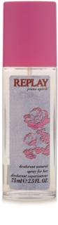 Replay Jeans Spirit! For Her deodorant s rozprašovačem pro ženy 75 ml