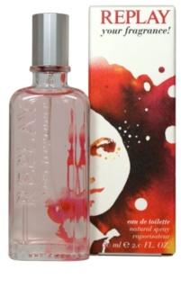 Replay Your Fragrance! For Her woda toaletowa dla kobiet 1 ml próbka