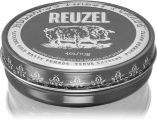 Reuzel Hollands Finest Pomade Extreme Hold Haarpomade mit Matt-Effekt