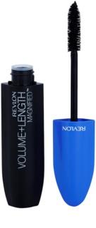 Revlon Cosmetics Volume + Length Magnified™ μάσκαρα για όγκο και περιστροφή των βλεφαρίδων αδιάβροχο