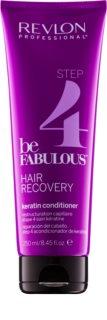 Revlon Professional Be Fabulous Hair Recovery Versterkende Conditioner met Keratine
