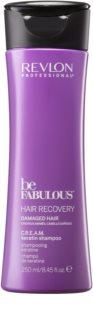 Revlon Professional Be Fabulous Hair Recovery shampoo in crema per capelli molto secchi
