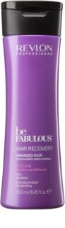 Revlon Professional Be Fabulous Hair Recovery condicionador cremoso para cabelo muito seco com queratina