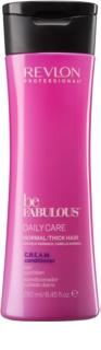Revlon Professional Be Fabulous Daily Care bálsamo para cabelos normais a grossos