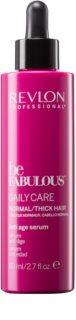 Revlon Professional Be Fabulous Daily Care hydratační a rozjasňující sérum proti příznakům stárnutí vlasů