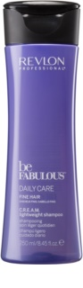 Revlon Professional Be Fabulous Daily Care champô para dar volume aos cabelos finos