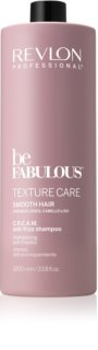 Revlon Professional Be Fabulous Texture Care uhladzujúci šampón pre nepoddajné a krepovité vlasy