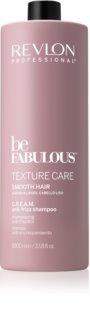 Revlon Professional Be Fabulous Texture Care glättendes Shampoo für unnachgiebige und strapaziertes Haar