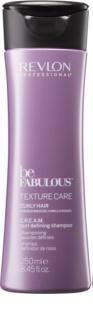 Revlon Professional Be Fabulous Texture Care champô hidratante para definição da ondulação