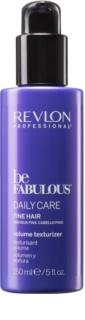 Revlon Professional Be Fabulous Daily Care leite hidratante para dar volume e reforçar os cabelos