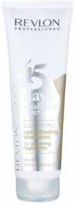 Revlon Professional Revlonissimo Color Care 2-in1 Shampoo and Conditioner for Highlighted and White Hair