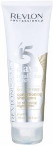 Revlon Professional Revlonissimo Color Care šampon a kondicionér 2 v 1 pro melírované a bílé vlasy