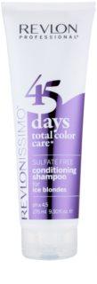 Revlon Professional Revlonissimo Color Care szampon z odżywką 2 w1 do zimnych odcieni blond