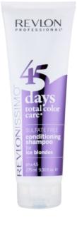 Revlon Professional Revlonissimo Color Care Shampoo und Conditioner 2 in 1 für kalte Blondtöne