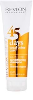 Revlon Professional Revlonissimo Color Care szampon i odżywka 2 w 1 dla miedzianych odcieni włosów