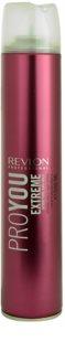 Revlon Professional Pro You Extreme laca de cabelo fixação forte