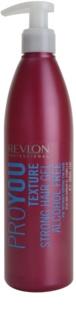 Revlon Professional Pro You Texture gel de cabelo fixação forte