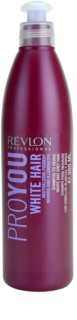 Revlon Professional Pro You White Hair shampoo per capelli biondi e grigi