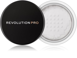 Revolution PRO Loose Finishing Powder transparentní sypký pudr