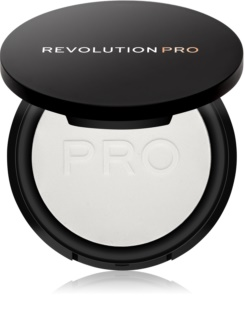 Revolution PRO Pressed Finishing Powder transparentní kompaktní pudr