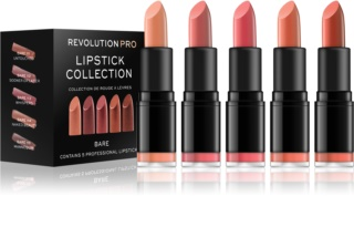 Revolution PRO Lipstick Collection set de labiales 5 uds