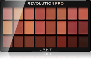 Revolution PRO Lip Kit paleta rúžov