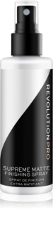 Revolution PRO Supreme spray fixador para base matificante