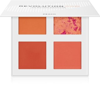Revolution PRO 4K Blush Palette paleta de coloretes