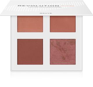 Revolution PRO 4K Blush Palette paleta rdečil