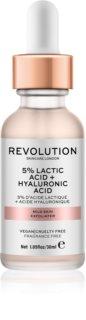 Revolution Skincare 5% Lactic Acid + Hyaluronic Acid peeling do twarzy
