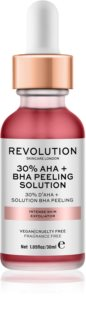 Revolution Skincare 30% AHA + BHA Peeling Solution scrub chimico intenso illuminante