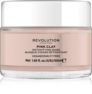 Revolution Skincare Pink Clay Detoxifying Skin Mask