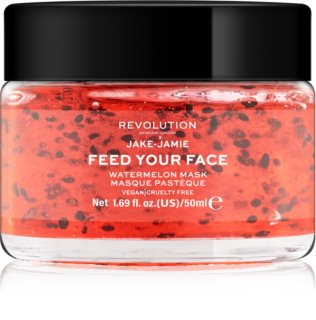 Revolution Skincare Jake-Jamie Watermelon Mask masque visage hydratant