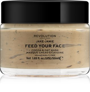 Revolution Skincare Jake-Jamie Cocoa & Oat Hydrating Face Mask