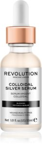 Revolution Skincare Colloidal Silver Serum Active Firming Serum With Antibacterial Ingredients