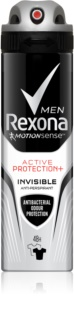 Rexona Active Protection+ Invisible spray anti-transpirant pour homme
